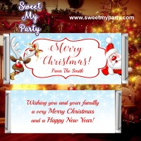 Christmas Candy Bar Wrappers, design 60