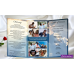 Blue Sky Funeral Program Trifold,Blue Sky Memorial Service Program,(0tf)