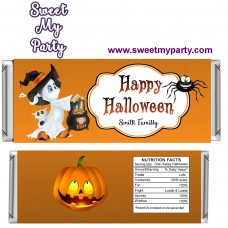 Halloween Candy Bar Wrappers, design 04