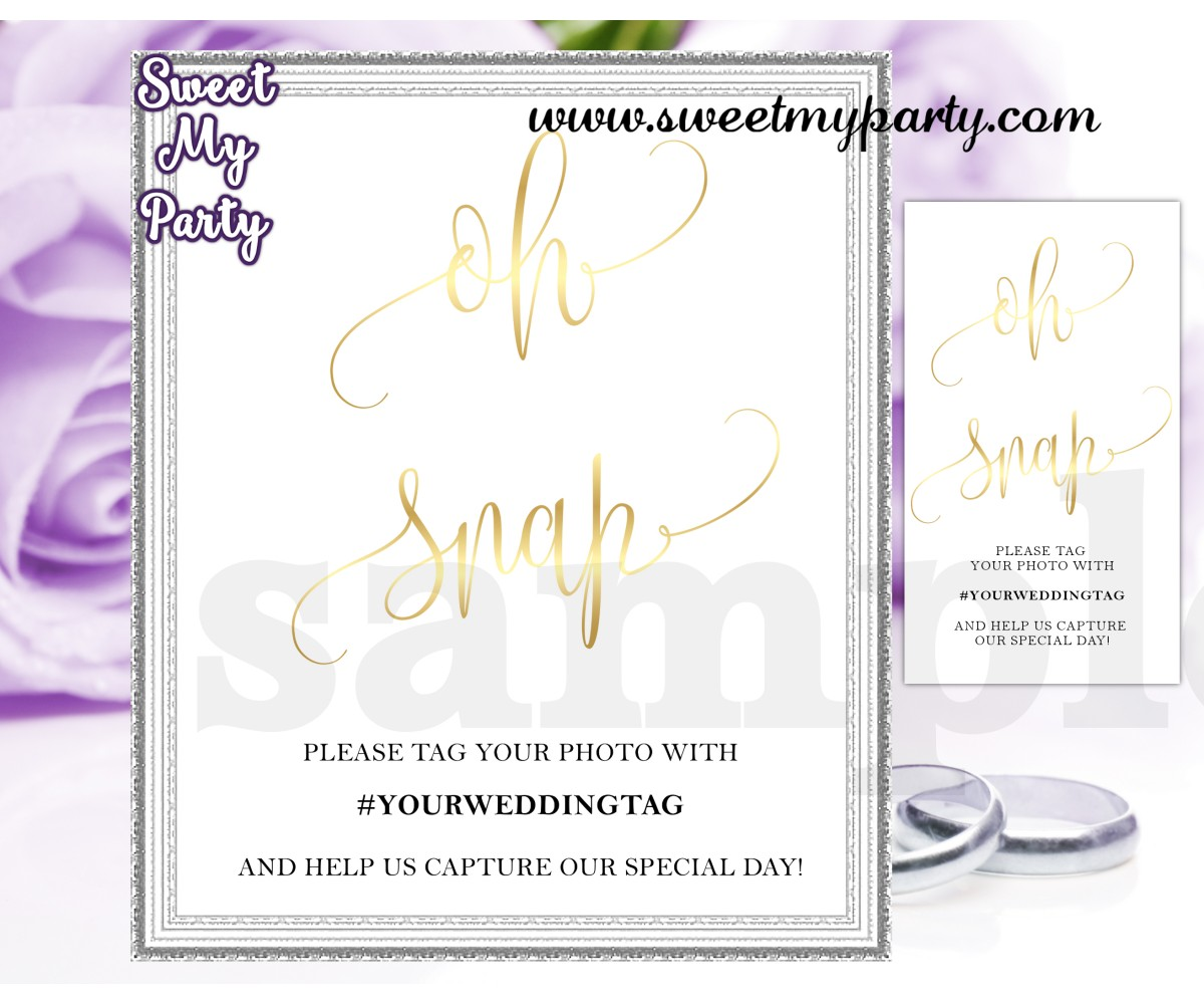 Wedding Hashtag sign,Wedding Instagram sign,(025w)