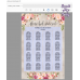 Boho seating chart template, Floral seating chart template, (31)