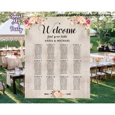 Beautiful Seating Chart Ideas For Wedding Contemporary - Styles ...