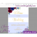 Burgundy Navy welcome sign template,Burgundy wedding welcome sign,(43w)