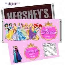 Princess Disney candy bar wrappers,(001filmpr)