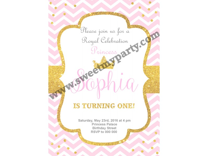 Pink and gold birthday party invitationsglitter birthday invitation pink and gold birthday party invitation003kidspag filmwisefo