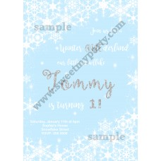 Winter Onederland Invitation blue,(7)