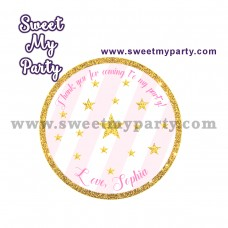 Twinkle Twinkle Little Star stickers,(004)