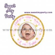 Twinkle Twinkle Little Star stickers,(004a)